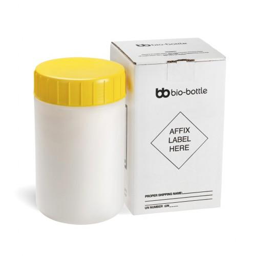 Bio-bottle 3 lt lt yellow Top Complete