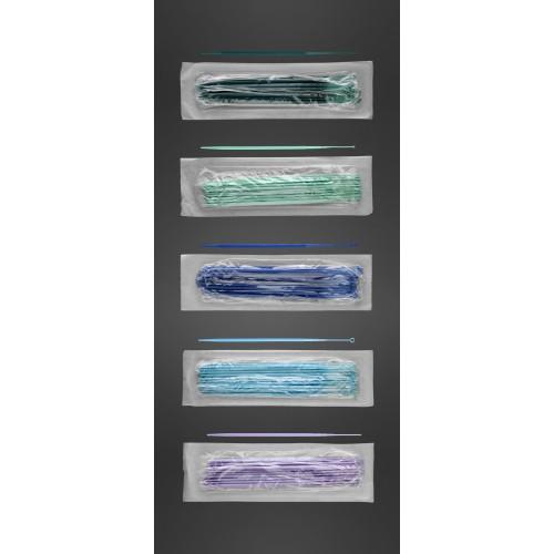 Inoculateur type flexible 10 ul stérile bleu stérile bleu clair