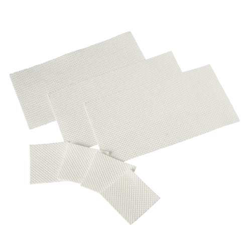Support absorbant 65 x 70 mm capacité 80 ml
