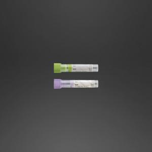 Tube pédiatrique 12 x 56 mm K2 EDTA x 1 ml de sand bouchon vert
