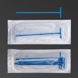 Etaleur forme T bleu emballage individuel stérile