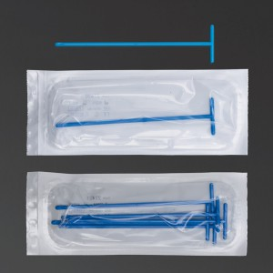 Etaleur forme T bleu emballage 5 pces stérile