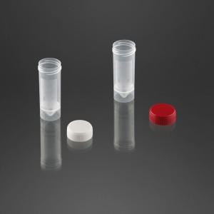 Pot à urine 30 ml avec surface d'écriture avec bouchon à vis rouge non vissé à part
