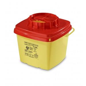 Collecteur pour déchets infectieux CS 5 lt B