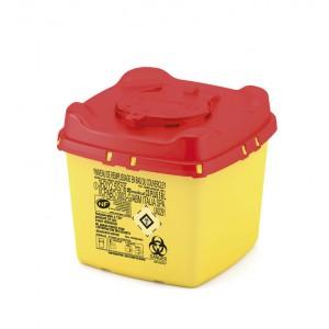 Collecteur pour déchets hospitaliers CS 5 lt PLUS B