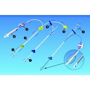 Injector plus injecteur utérin pour hystérosalpingographie (C)